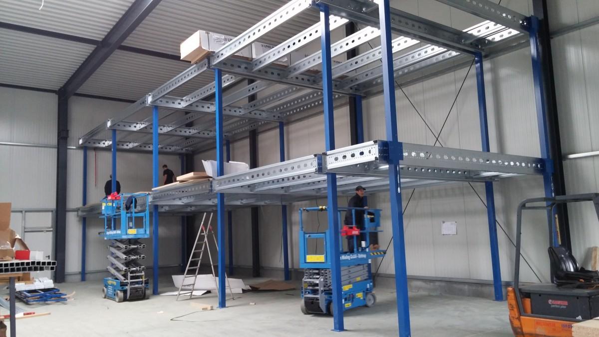 Montage Entresolvloer meerdere verdiepingen