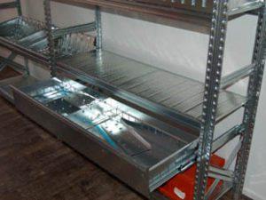 metalsistem-super123-stalen Stelling.Stalen Stellingkast