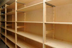 houten stellingen, houten stellingkasten, houten legbordstellingen van Noordrek: Scandadebasic