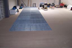 roostervloer voor de entresolvloer en verdiepingsvloer