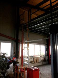 Ladder voor tussenvloer