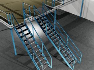 tussenvloer steile trap en luie trap
