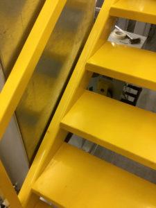 Tussenvloer Trap in verbinding met tussenvloer