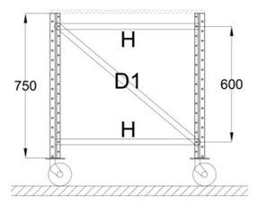 Noordrek-aanbieding-werktafels met wielen