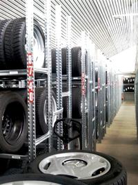 Reifenlagerung Metalsistem Stahlregale Super1-2-3-
