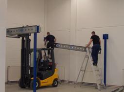 Montageteam Lagerbühnen-Stahlbaubühnen Noordrek GmbH