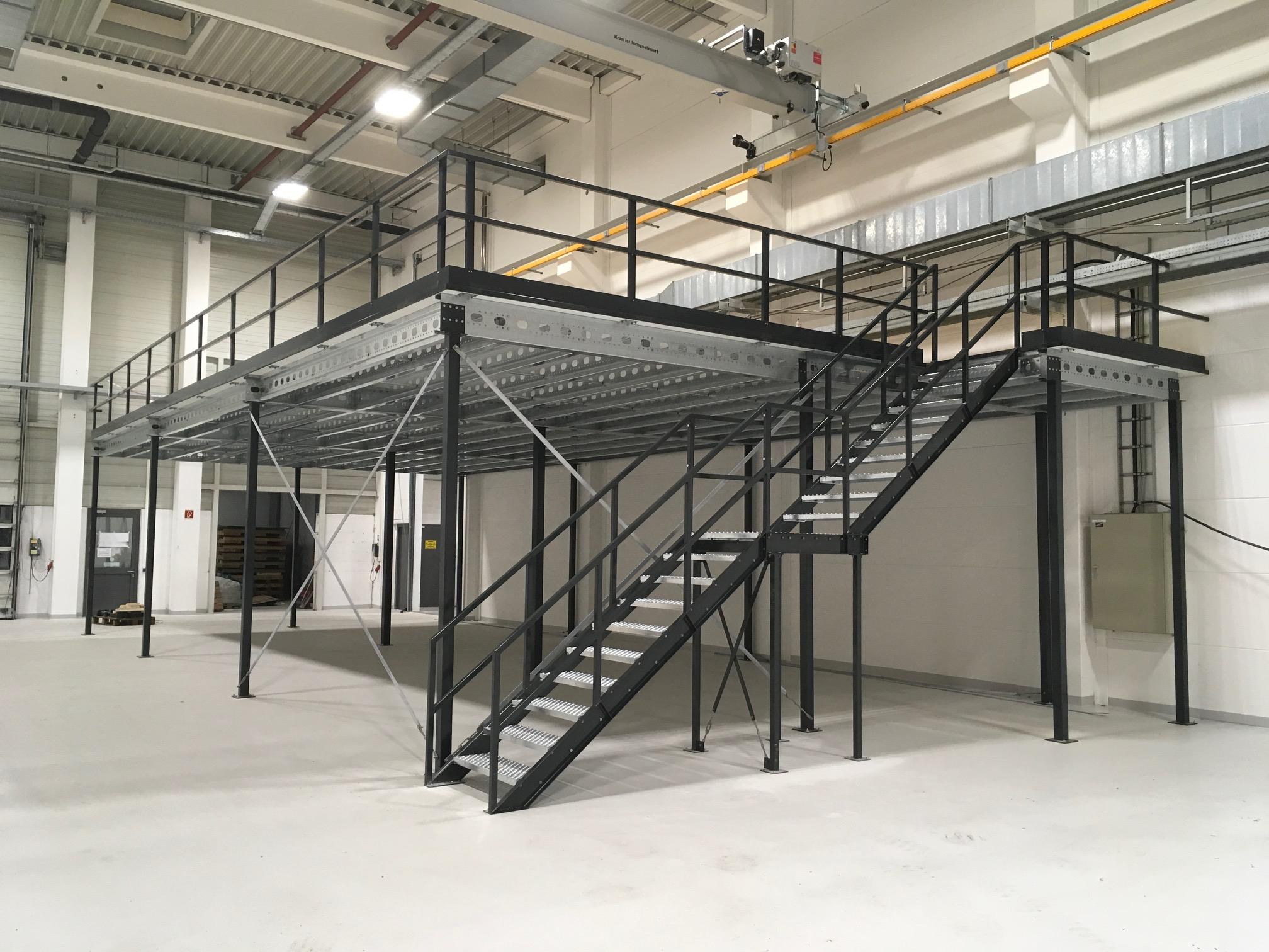 Entresovloer Noordrek. Verdubbeling van uw bedrijfsruimte en Magazijnruimte met een verdiepingsvloer